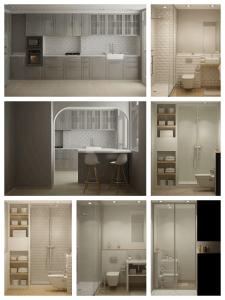 Galería de Infografías Proyecto de Decoración e Interiorismo vivienda en A Coruña